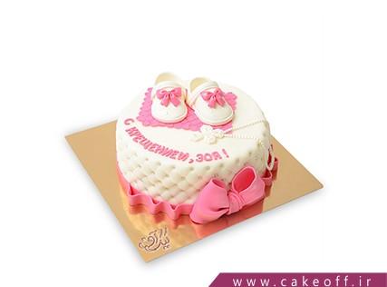 کیک جشن اولین قدم - کیک تاتی تاتی | کیک آف