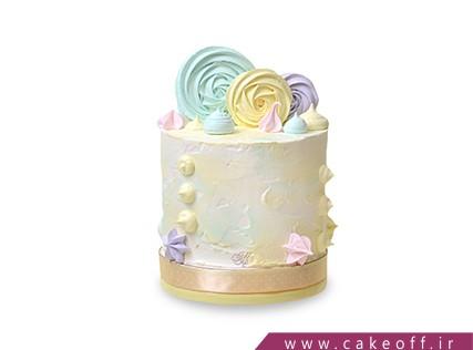 کیک خامه ای لالی پاپز | کیک آف