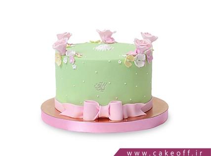 کیک تولد گل چمن | کیک آف