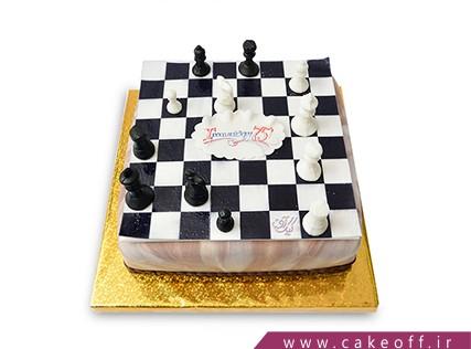 کیک ورزشی - کیک شطرنج 1 | کیک آف