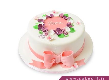 کیک روز دختر - کیک گل دخترون | کیک آف