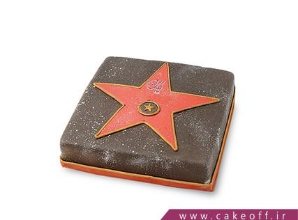 سفارش کیک خاص - کیک ستاره هالی وود | کیک آف