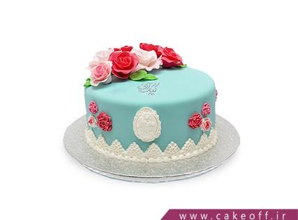 سفارش کیک فوندانت - کیک گلی | کیک آف