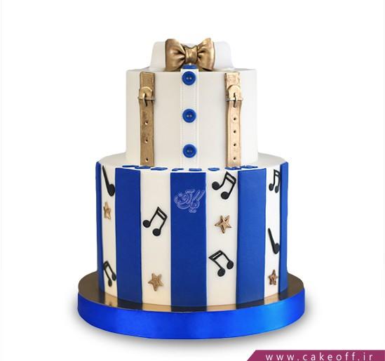 کیک تولد موسیقی - کیک آقای خوش نوا | کیک آف