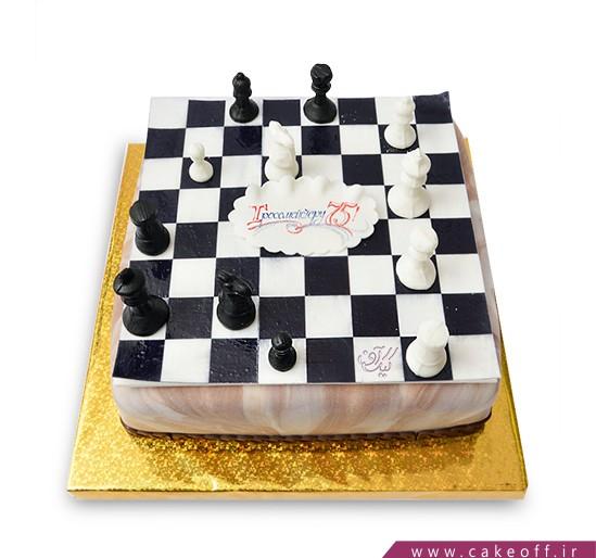 کیک ورزشی - کیک شطرنج ۱ | کیک آف