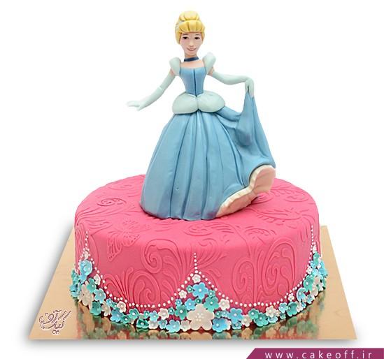 کیک سیندرلا می رقصد