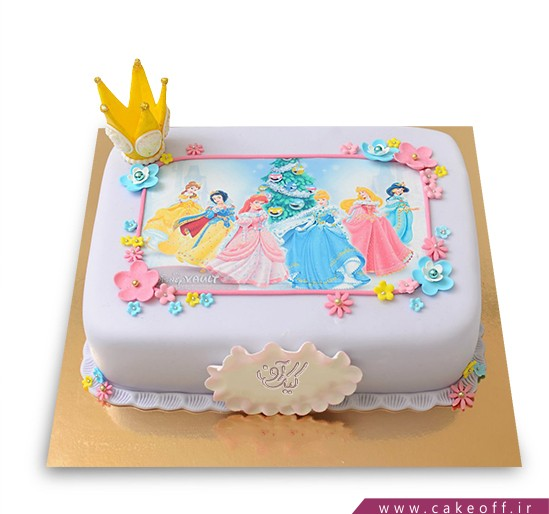 کیک تولد دخترانه سیندرلا