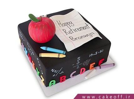 مدل کیک برای روز معلم - کیک برام دیکته بگو | کیک آف