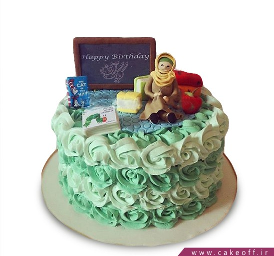 کیک معلم صبورمی