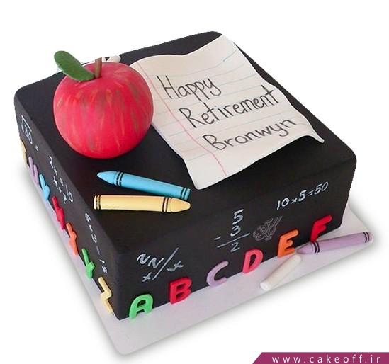 کیک روز معلم برام دیکته بگو