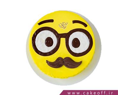کیک روز پدر - کیک خنده دار - کیک عینک آقای جمالی | کیک آف