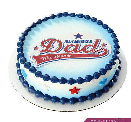 کیک روز مرد - کیک روز پدر - کیک تصویری روز پدر 1 | کیک آف