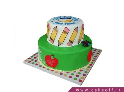 کیک روز معلم به وقتِ نوشتن | کیک آف