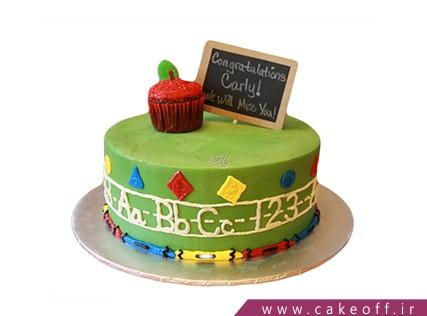 مدل کیک برای روز معلم - کیک بهترین معلم دنیا | کیک آف