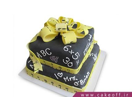 مدل کیک برای روز معلم - کیک فصل امتحانات | کیک آف