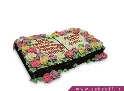 کیک روز معلم کتاب اول | کیک آف