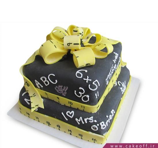 کیک روز معلم فصل امتحانات