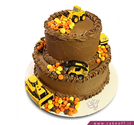 سفارش کیک روز مهندس - کیک چند تن   کیک آف