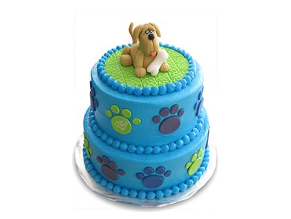 کیک تولد بچه گانه - کیک کارتونی هاپوی شکمو | کیک آف