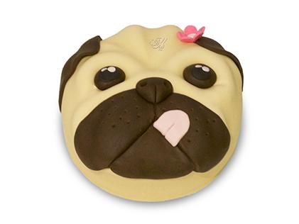 کیک تولد بچه گانه خانم هاپوکومار - کیک کارتونی | کیک آف