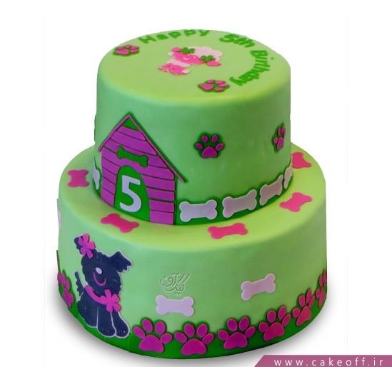 کیک تولد بچه گانه پاپی | کیک آف