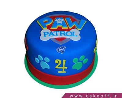 کیک فوندانتی - کیک کارتون سگ های نگهبان 5 | کیک آف