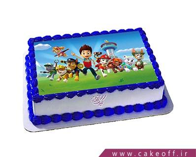 کیک تولد پاو پاترول | کیک آف