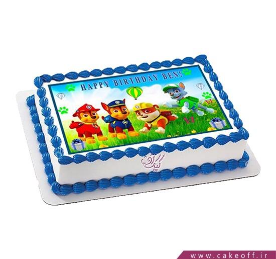 کیک تولد کودک - کیک سگ نگهبان نترس | کیک آف