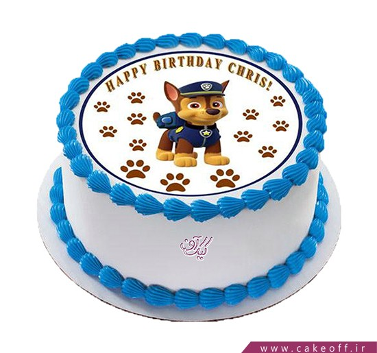 کیک سگ های نگهبان شجاع | کیک آف