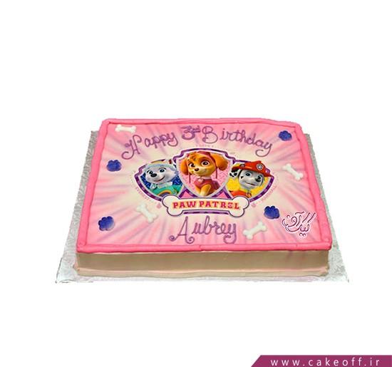 کیک سگ های نگهبان چاپی | کیک آف