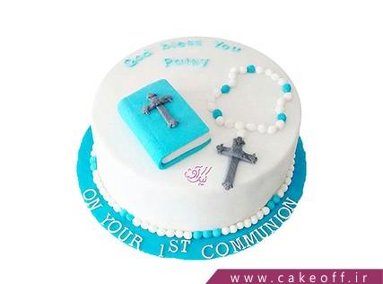 کیک کریسمس - کیک ملاقات با سنت نیکلاس | کیک آف