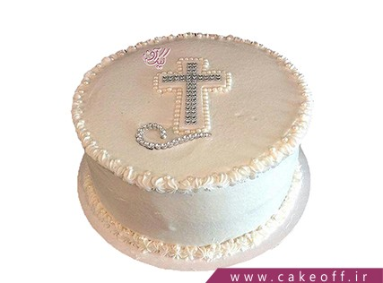 کیک صلیب مروارید نشان | کیک آف