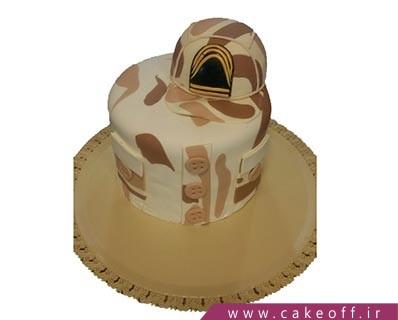 مدل کیک سربازی - کیک سرباز وظیفه | کیک آف