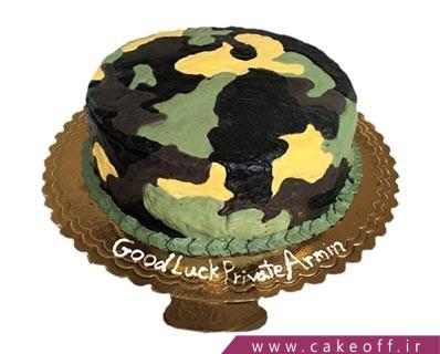 مدل کیک سربازی - کیک سربازی سخته | کیک آف