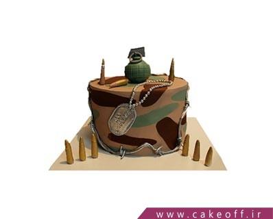 کیک سربازی - کیک و اینک صلح | کیک آف