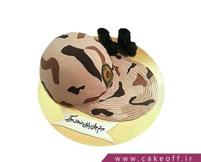 کیک مدل سربازی - کیک پایان خدمت باور نکردنی | کیک آف