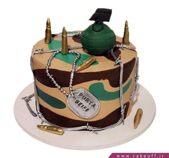 مدل کیک سربازی - کیک سربازی - کیک این جنگ لعنتی | کیک آف
