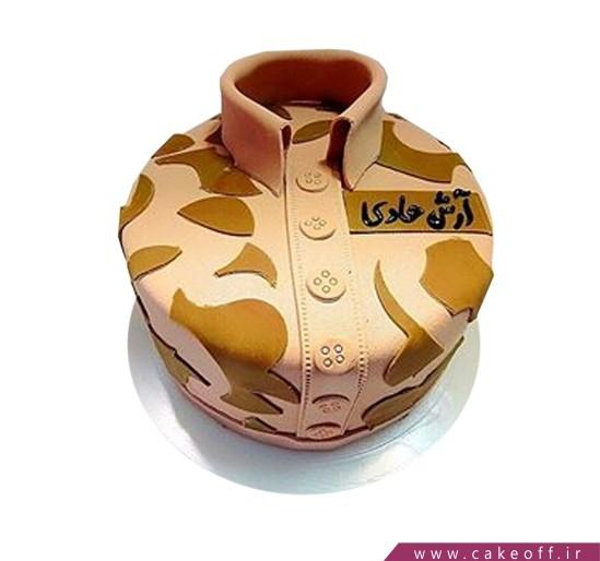 کیک سربازی - کیک سرباز وظیفه شناس | کیک آف