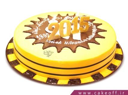 کیک فوتبالی - کیک سپاهان - کیک زرد قهرمان | کیک آف