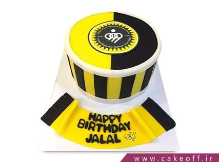 کیک فوتبالی - کیک سپاهان - کیک طوفان زرد | کیک آف