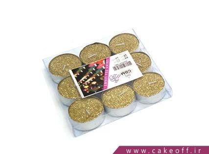 شمع وارمر اکلیلی طلایی | کیک آف