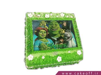 کیک تولد بچه گانه شرک 1 | کیک آف