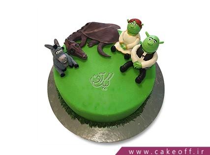 کیک تولد بچه گانه شرک 2 | کیک آف