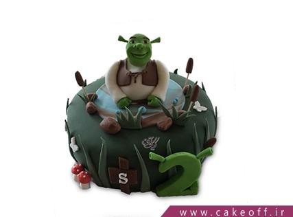 کیک تولد بچه گانه شرک 9 | کیک آف