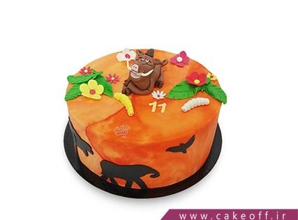 کیک تولد جدید - کیک شیر شاه 4 | کیک آف
