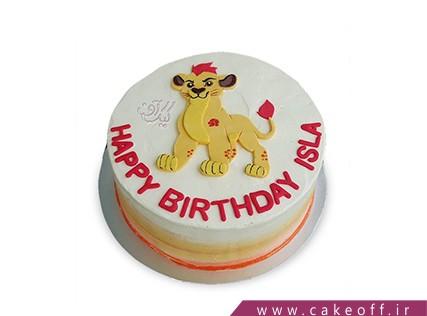 کیک تولد کودک - کیک شیر شاه 5 | کیک آف