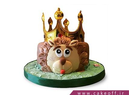 کیک تولد کودک - کیک شیر شاه 6 | کیک آف