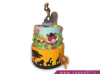 کیک تولد کودک - کیک شیر شاه 7 | کیک آف