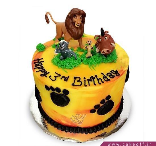 کیک تولد جدید - کیک شیر شاه ۱ | کیک آف