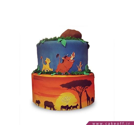 تهیه کیک تولد - کیک شیر شاه ۱۱ | کیک آف